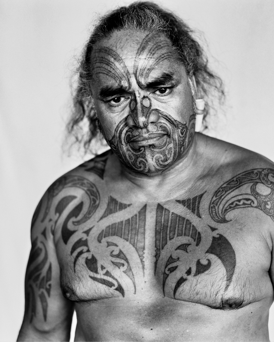 Axel Bernstorff, Fine example of rangi pahuri moko (facial tattoo) NgaPuhi tribe, Aotearoa New Zealand Collectable fine photographic prints. Culture. Heritage. Tradition. Moko, Aotearoa New Zealand