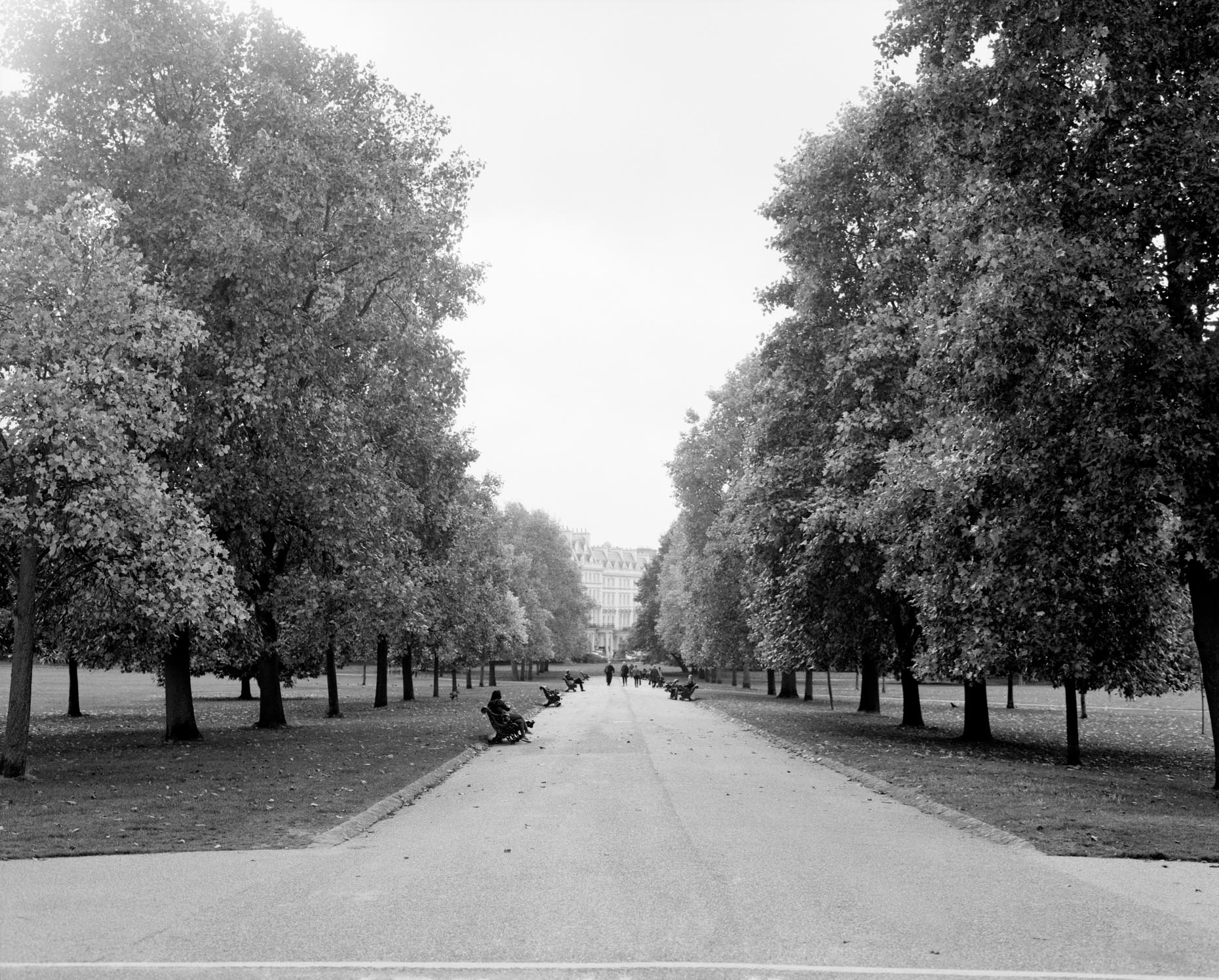 Axel Bernstorff, Collectable limited edition fine photographic art prints. Kensington Park Gardens. royal residence in the Royal Borough of Kensington and Chelsea in London, England.