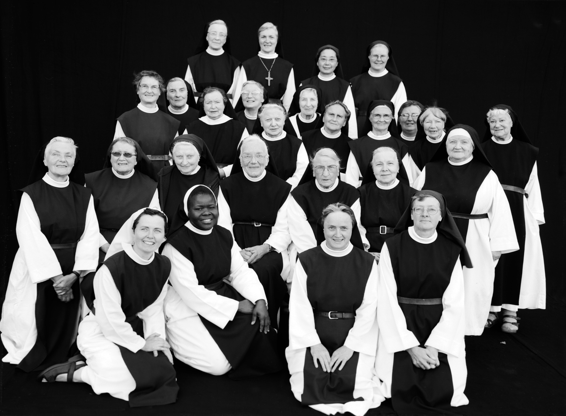 Axel Bernstorff, Collectable limited edition fine photographic art prints. Nuns II. From the Cistercian Order, Ireland