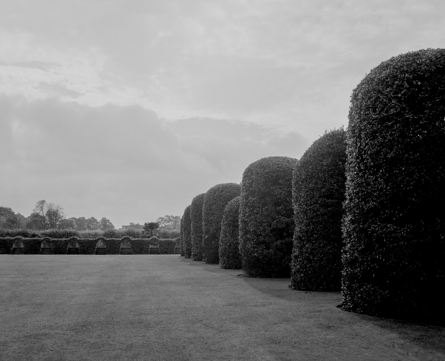 Axel Bernstorff, Collectable limited edition fine photographic art prints. Kensington Park Gardens IV. royal residence in the Royal Borough of Kensington and Chelsea in London, England.