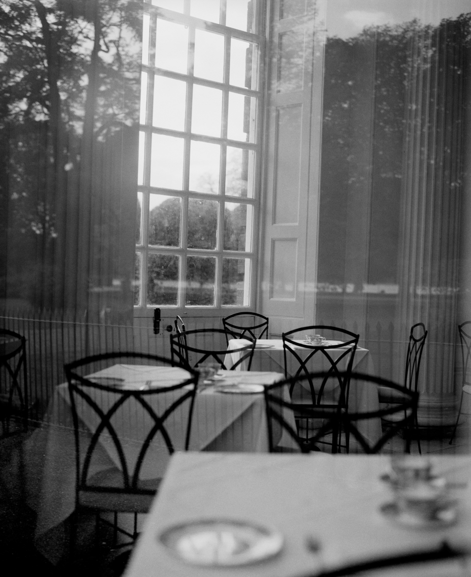 Axel Bernstorff, Collectable limited edition fine photographic art prints. The Orangery Restaurant, Kensington Palace Gardens, Chelsea, London